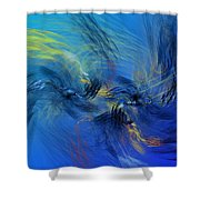 Avian Dreams 4 - Mating Rituals  Shower Curtain