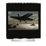 Aviation Art Catus 1 No. 26 L A Shower Curtain
