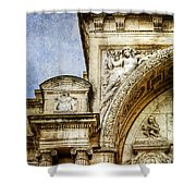 Avignon Opera House Muse 1 - Vintage Version Shower Curtain