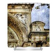 Avignon Opera House Muse 2 - Vintage Version Shower Curtain