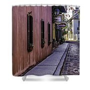 Aviles Street The Oldest Street In The Usa Shower Curtain