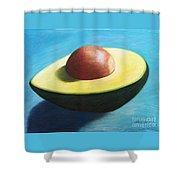 Avocado Grande Shower Curtain