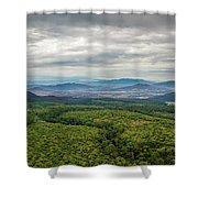 Avocado Land Shower Curtain