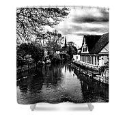 Avon Boathouse Shower Curtain