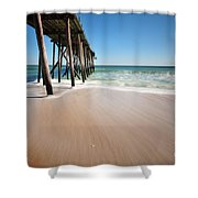 Avon By The Sea Shower Curtain