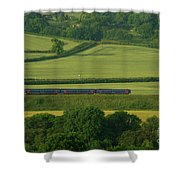 Avon Valley Sprinter  Shower Curtain