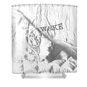Awake Shower Curtain