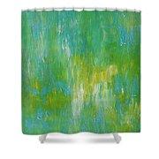 Awaken Shower Curtain by KR Moehr