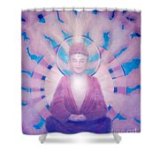 Awakening Buddha Shower Curtain