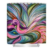 Awakening 1 Shower Curtain