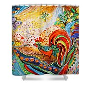 Awakening Of The Old Town Shower Curtain