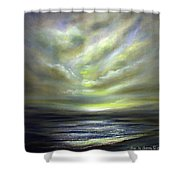Away 2 Shower Curtain