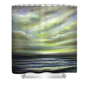 Away 3 Shower Curtain