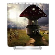 Away From Civilization Shower Curtain