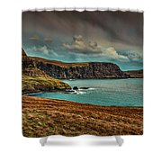Away From Sun #g9 Shower Curtain by Leif Sohlman