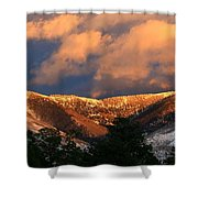 Awesome Light Of New Mexico Shower Curtain