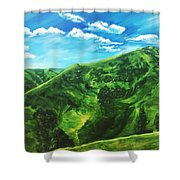 Awesome Serenity Shower Curtain