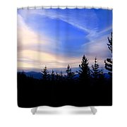 Awesome Sky Shower Curtain
