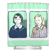 Awkwardness Of Youth Shower Curtain