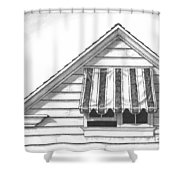 Awning Shower Curtain