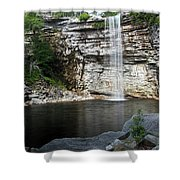 Awosting Falls In July II Shower Curtain