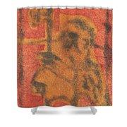 Axeman 10 Shower Curtain