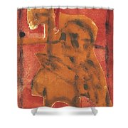 Axeman 13 Shower Curtain