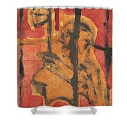 Axeman 14 Shower Curtain