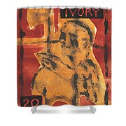 Axeman 16 Shower Curtain