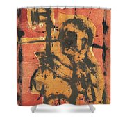 Axeman 2 Shower Curtain