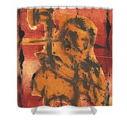 Axeman 5 Shower Curtain