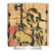 Axeman 9 Shower Curtain