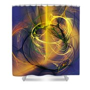 Axienty Attack-finding Lost Love Shower Curtain