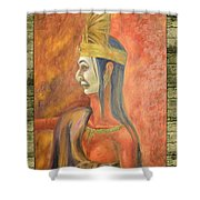 Axooxco Illustration Shower Curtain