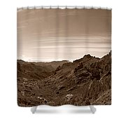 Ayacata And Roque Nublo Shower Curtain
