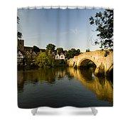 Aylesford Bridge Kent Shower Curtain