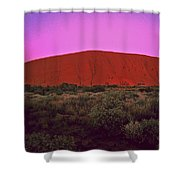 Ayres Rock Shower Curtain