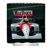 Ayrton Senna 1 Shower Curtain