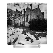 Aysgarth Church Shower Curtain