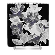 Azalea Branch Shower Curtain