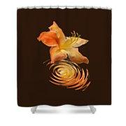 Azalea Ripples Vertical Shower Curtain