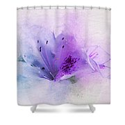 Azalea Splash 2 Shower Curtain