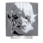 Azog The Defiler Shower Curtain