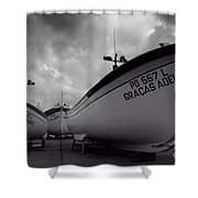 Azorean Fishing Boats Shower Curtain