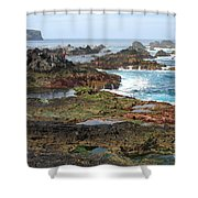 Azores Seascape Shower Curtain