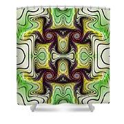 Aztec Art Design Shower Curtain