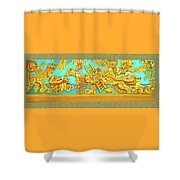 Aztec Fantasy Shower Curtain
