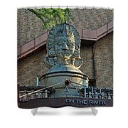 Aztec On The River Shower Curtain