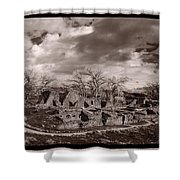 Aztec Ruins National Monument Shower Curtain