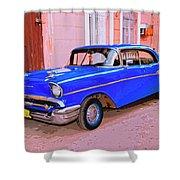 Azul Cobalto Shower Curtain